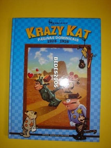 Álbum De Luxo Krazy Kat - Ópera Gráphica - Edição Gigante