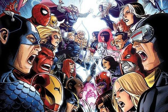 Vingadores Vs X-men Lote Revistas Leia Descrição