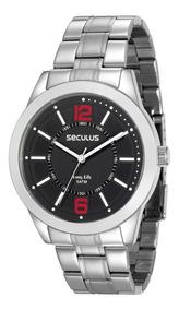 Relógio Seculus Long Life 28922g0svna1
