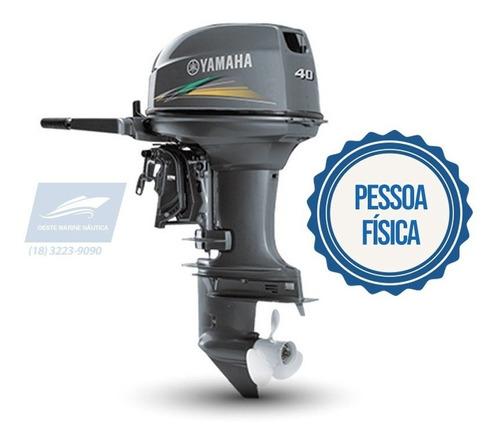 Motor De Popa Yamaha 40aws Novo 0km 2020 Pf