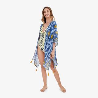 Kimono Azul Luisiana Mujer Lounge