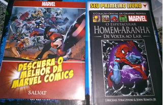 Hq Capa Dura Homem Aranha Marvel + Poster Salvat Lacrado!