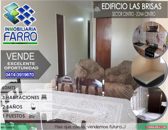 Venta De Apto En Sector Centro Ve01-0044sc-tc