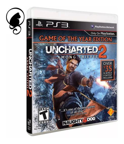 Uncharted 2 Ps3 Among Thieves Playstation 3 Lacrado Original