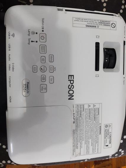 Projetor Epson Powerlite X24+ - Ótimo Estado!!