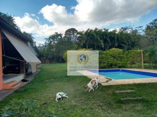 Imagem 1 de 21 de Chácara Com 2 Dormitórios À Venda, 1800 M² Por R$ 580.000,00 - Loteamento Chácaras Vale Das Garças - Campinas/sp - Ch0008
