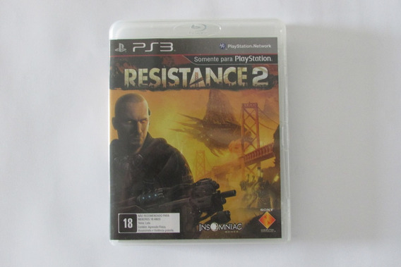 Jogo Resistance 2 - Playstation 3 - Mídia Física - Usado