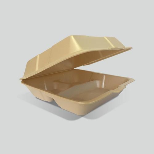 Contenedor División Biodegradable Reyma® 9x9 Fecula De Maíz