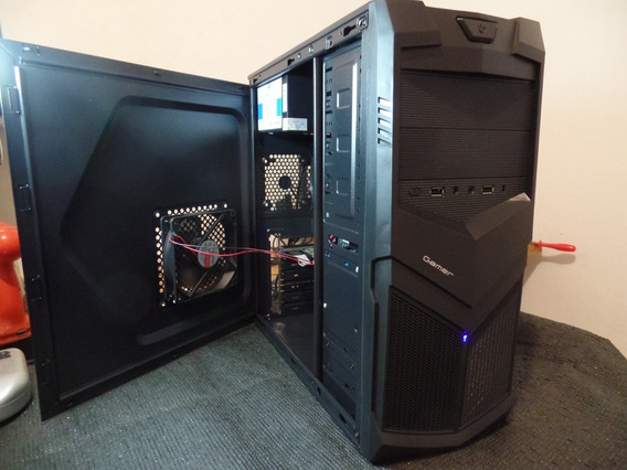 Pc Gamer Barato Com Placa De Vídeo - Xeon - Ssd 120 - Hd160