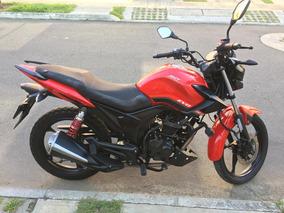 Motocicleta Akt Evo 125 Rl Color Rojo Mod. 2017