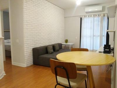 Flat Em Itaim Bibi, São Paulo/sp De 42m² 1 Quartos Para Locação R$ 2.786,51/mes - Fl179842