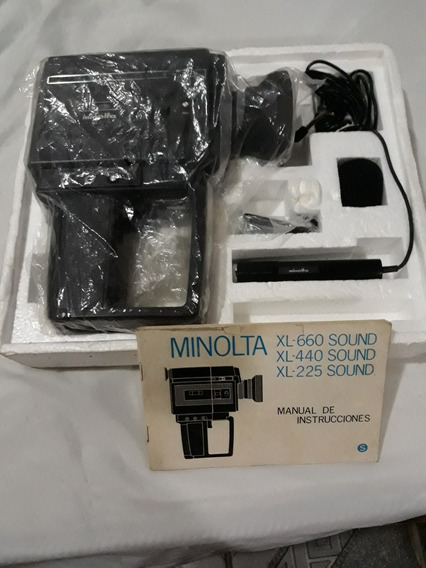 Filmadora Minolta Xl600