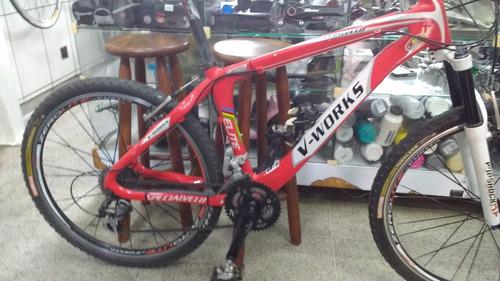 Bike V- Works 26 Vicini Quadro De Carbono Tamanho 16,5