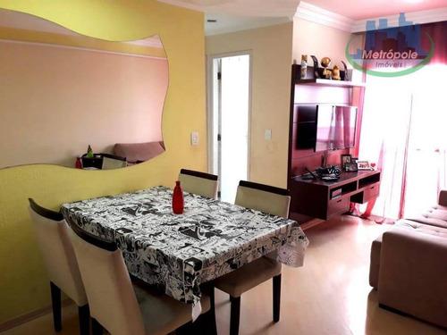 Apartamento Residencial À Venda, Gopoúva, Guarulhos. - Ap0751