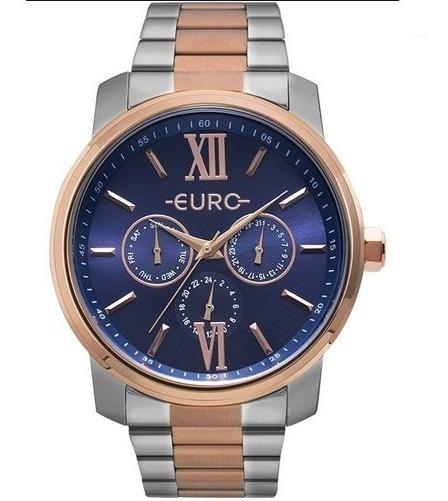 Relógio Euro Multi Glow Unisex Bicolor Eu6p29aketd/5a