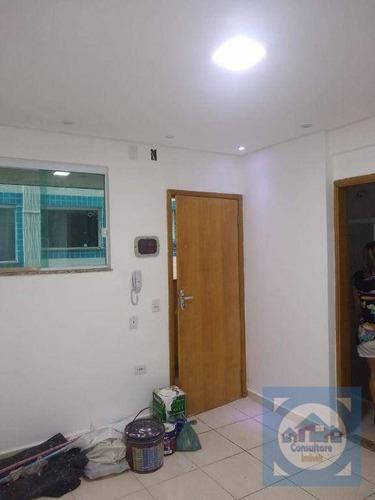 Apartamento Com 1 Dormitório À Venda, 48 M² Por R$ 150.000,00 - Parque São Vicente - São Vicente/sp - Ap5987