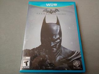 Batman Arkham Origins Para Nintendo Wii U