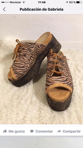 Zapatos De Cuero Con Onda! Desde $ 400 A $1000! Envios!