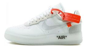 Tênis Off-white X Nike Air Force 1 Varias Cores Promoção
