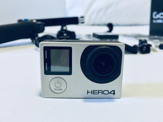 Gopro Hero 4 Black + Smartcase + 3-way Stick + Acessórios