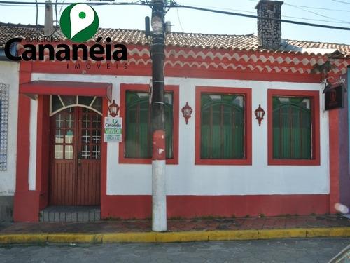 Excelente Imóvel Comercial Disponível Para Venda No Centro Histórico De Cananéia/sp - Co00012 - 68545560