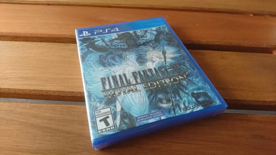 Final Fantasy Xv Royal Edition Ps4 Novo Lacrado