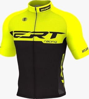 Camisa Ert Elite Racing Yellow Ciclismo Mtb + Brinde