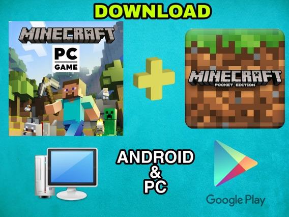 Minecraft Pc + Minecraft Pocket Edition Download