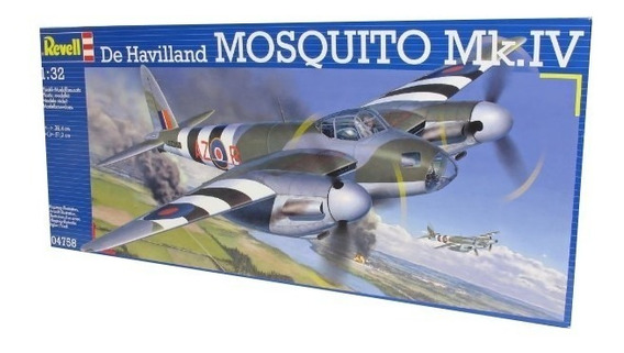 Revell Avion De Havilland Mosquitomk.iv 1/32 Supertoys