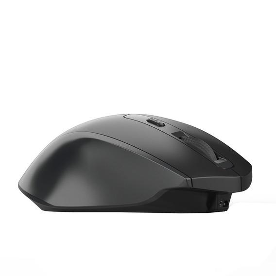 Hxsj T28 Ergonomia Recarregvel 2.4 Ghz Mouse Sem Fio 2400
