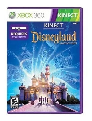 Jogo Disneyland Adventures Xbox 360 Mídia Física Lacrado