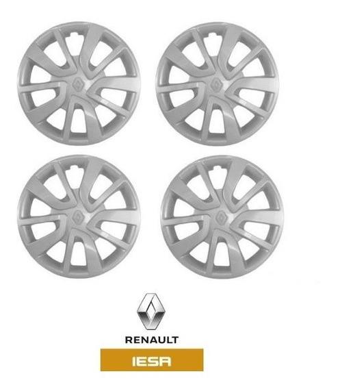 Jogo Calotas Originais Renault Sandero/logan Novo 403151796r