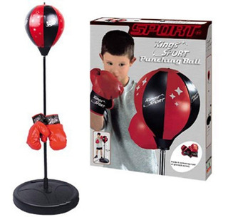 Juego Mini Boxeopuching Ball (no Envios)
