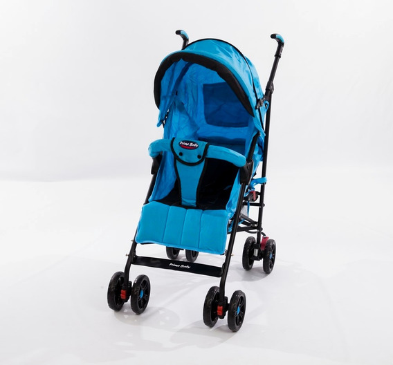 Carrinho Bebê Berço Capota Retrátil Azul 0-15kg Promoção