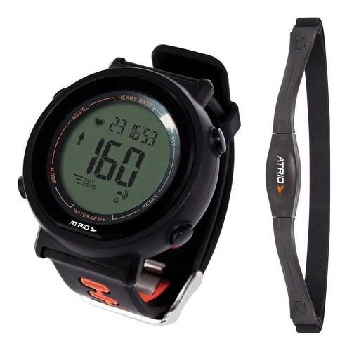Relógio Monitor Cardíaco Atrio Fortius Es049 Calorias Cinta