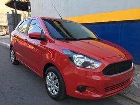 Ford Ka 2017 1.0 Se Vermelho Unico Dono Com 28.000km Winikar