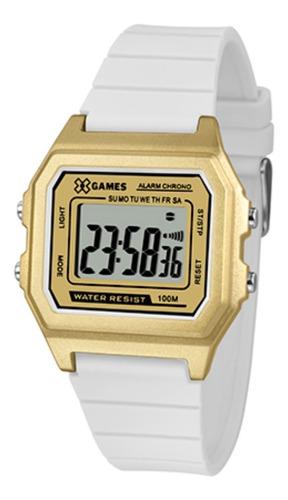 Relógio Digital Branco Xgames Original Quadrado Envio Rápido