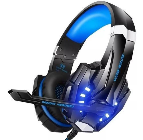 Audífonos G9000 Estéreo Con Luz Led Para Videojuegos Pc