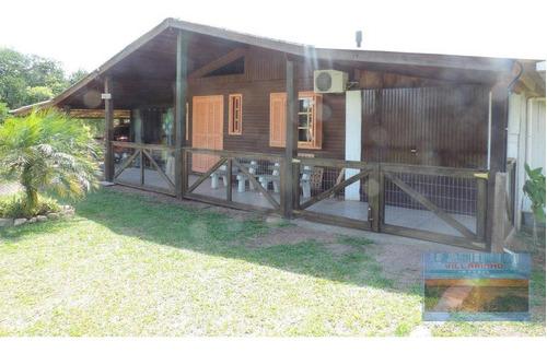 Sítio Com Casa De 2 Dormitórios À Venda, 100 M² Por R$ 230.000 - Parque Eldorado - Eldorado Do Sul/rs - Ca0602
