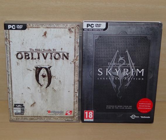 The Elder Scrolls Iv Oblivion + Skyrim Legendary Edition Pc