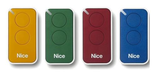 4 Controle Remoto Portão Eletrônico Nice Peccinin Linear