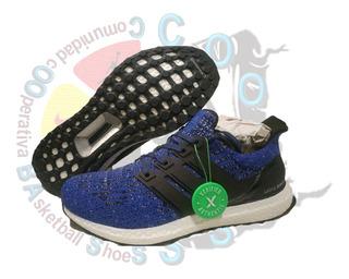 adidas Running Ultraboost Carbon Blue (25 Cm) Coobass