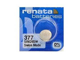 Renata Reloj Bateria 377 Sr626sw Pack Individual