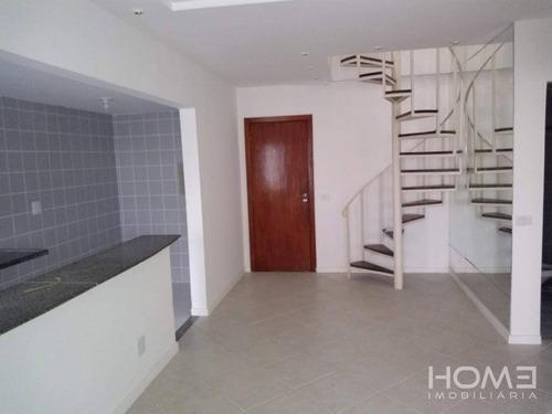 Imagem 1 de 26 de Cobertura Com 2 Dormitórios À Venda, 158 M² Por R$ 807.500,00 - Rio 2 - Rio De Janeiro/rj - Co0104
