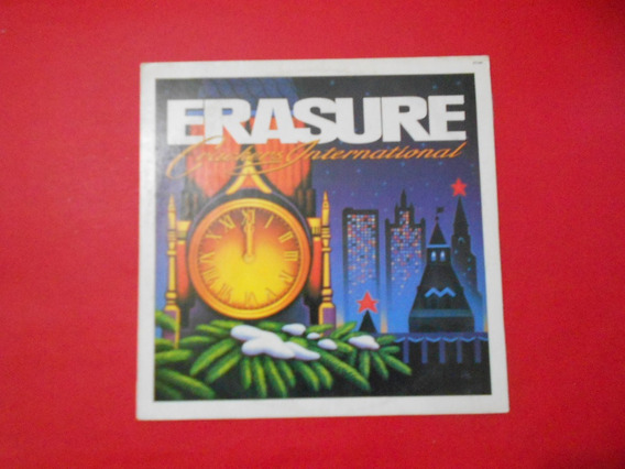 Lp - Erasure - Crackers International