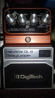 Digitech Dl-8 Hardwire Delay/looper (similar Boss Dd-7)