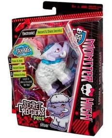 Mascote Monster High Secret Creepers Pet Elefante Mattel