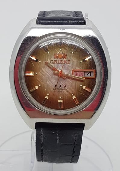 Relogio Vintage De Pulso Orient Automatico 21 Rubis Cx 38 Mm