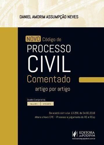 Novo Código Processo Civil Comentado Artigo 2016