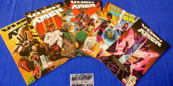 Uncanny X-men Serie Del 14 Al 18 Marvel Comics Mexico